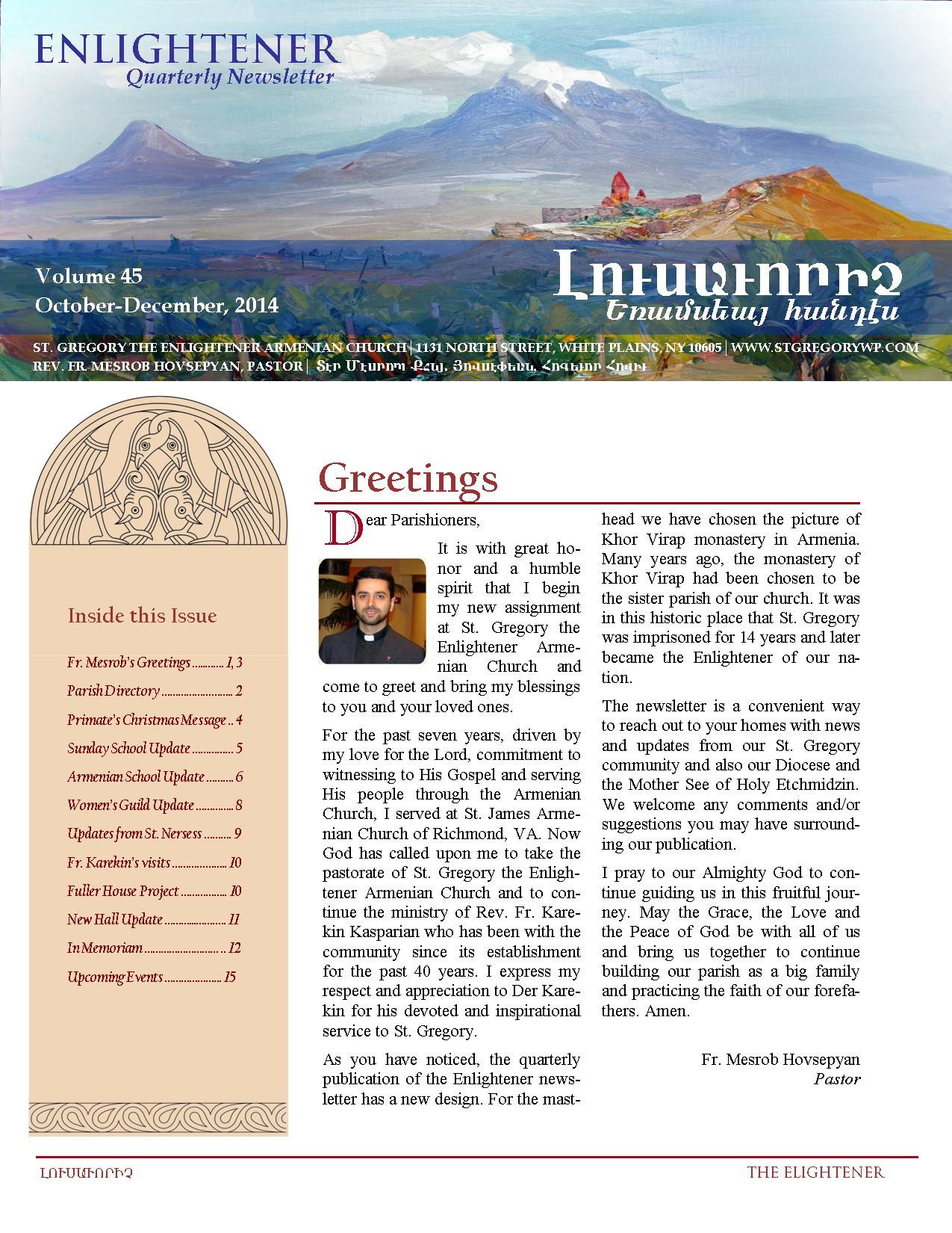 St.Gregory Newsletter_p.1