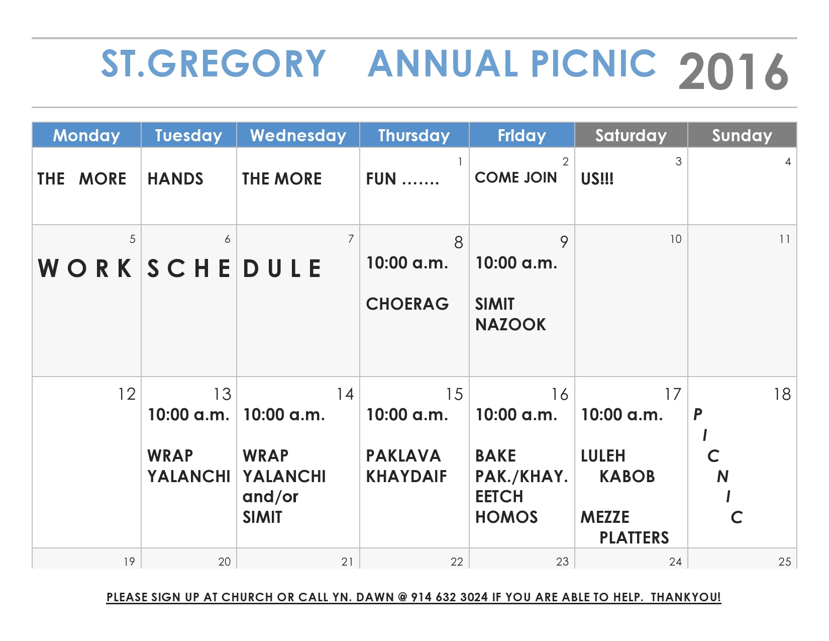 2016 StG Picnic work schedule (FOOD - YnD)-page0001
